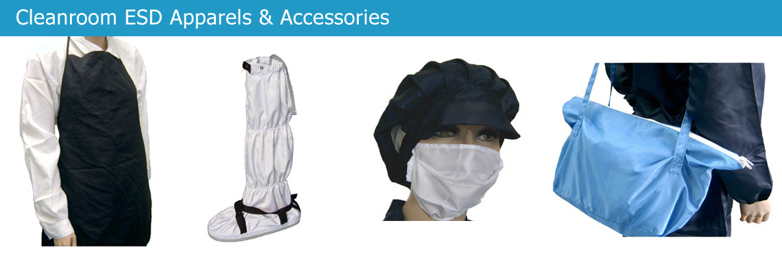 Cleanroom ESD Apparels & Accessories