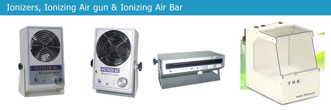 Ionizers, Ionizing Air gun & Ionizing Air Bar