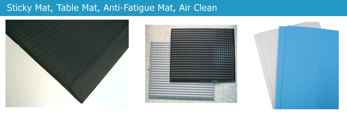 Sticky Mat, Table Mat, Anti-Fatigue Mat, Air Clean