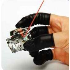 Conductive (Impregnated) Rubber Finger Cots