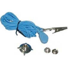 10ft Grounding Cord c/w Button