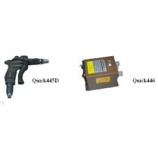 Ionizing Air Gun c/w High Voltage Power Supply