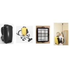 Mini Cleanroom ESD Backpack Vacuum Cleaner