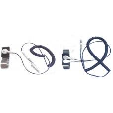 8ft, PU Coilcord c/w Adjustable Wrist Strap